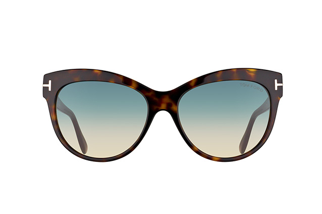 Tom Ford Lily FT 0430/S 52P vista en perspectiva
