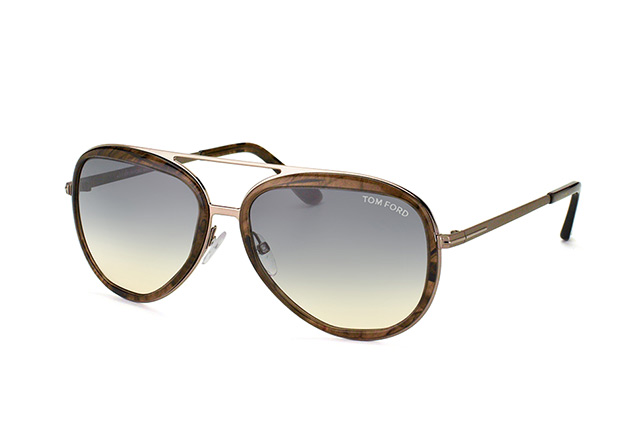 Tom Ford Andy FT 0468/S 50B vista en perspectiva
