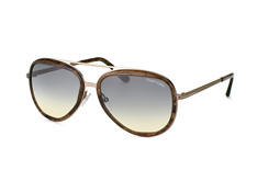Tom Ford Andy FT 0468/s 50B, Aviator Sonnenbrillen, Grau