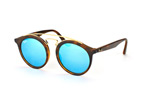 Ray-Ban RB 4256 6092/55 large Goldfarben / Havana / BraunPerspektivenansicht Thumbnail