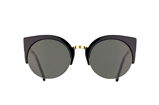 Super by Retrosuperfuture Lucia Francis Black Gold 340/R Perspektivenansicht
