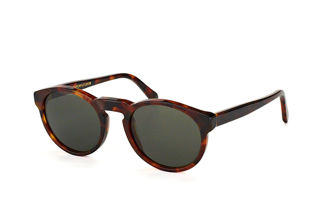 Super by Retrosuperfuture Paloma Classic Havana FCJ/R vista en perspectiva