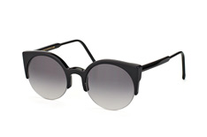 Super by Retrosuperfuture Lucia Black 283, Browline Sonnenbrillen, Schwarz