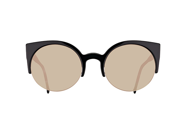 Super by Retrosuperfuture Lucia Black Ivory HUP/R vue en perpective