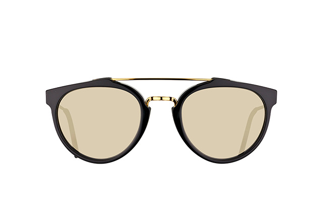 Super by Retrosuperfuture Giaguaro Black Ivory MIO/R vue en perpective