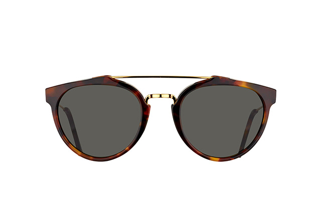 Super by Retrosuperfuture Giaguaro Classic Havana 8PC/R vista en perspectiva