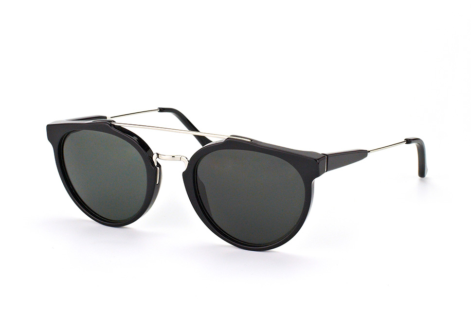 Super by Retrosuperfuture Giaguaro Black 468/r, Aviator Sonnenbrillen, Schwarz