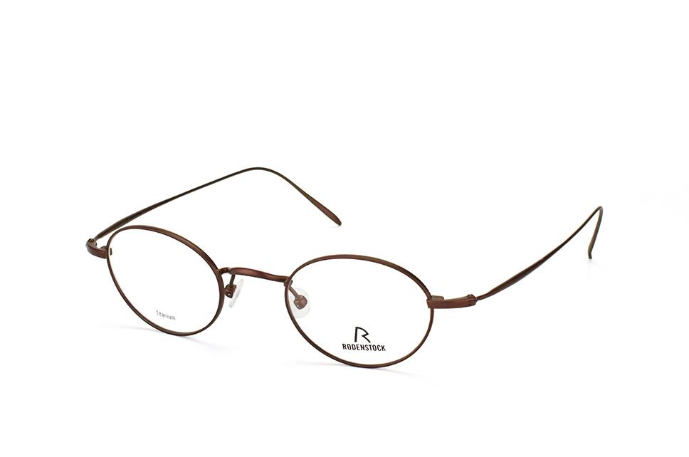 R 4792 D, Round Brillen, Dunkelbraun