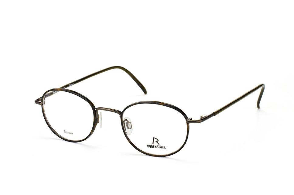 R 2288 D, Round Brillen, Oliv