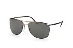 Silhouette 8689 60-6200, Aviator Sonnenbrillen, Dunkelgrau