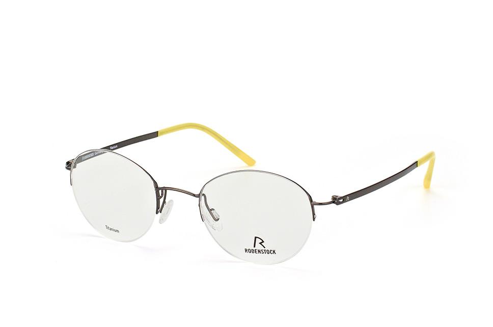 R 7014 C, Round Brillen, Schwarz