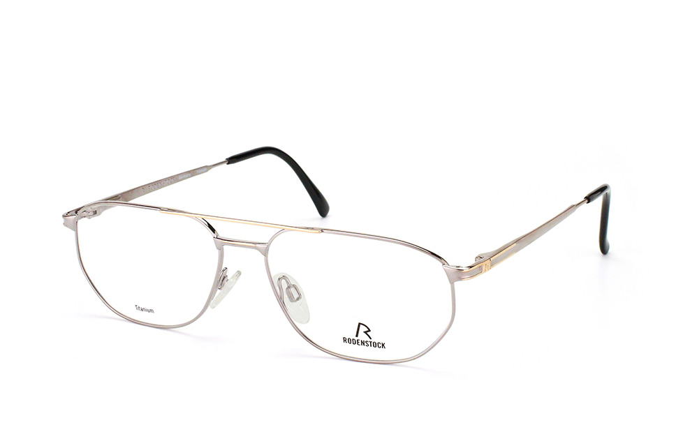 R 4275 B, Aviator Brillen, Silber
