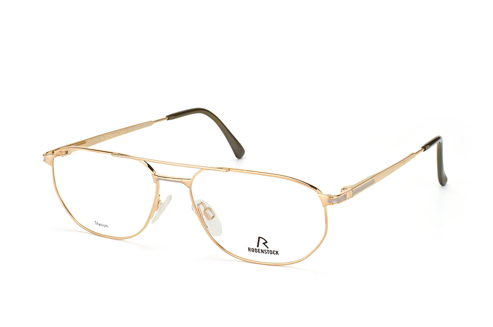 R 4275 A, Aviator Brillen, Goldfarben
