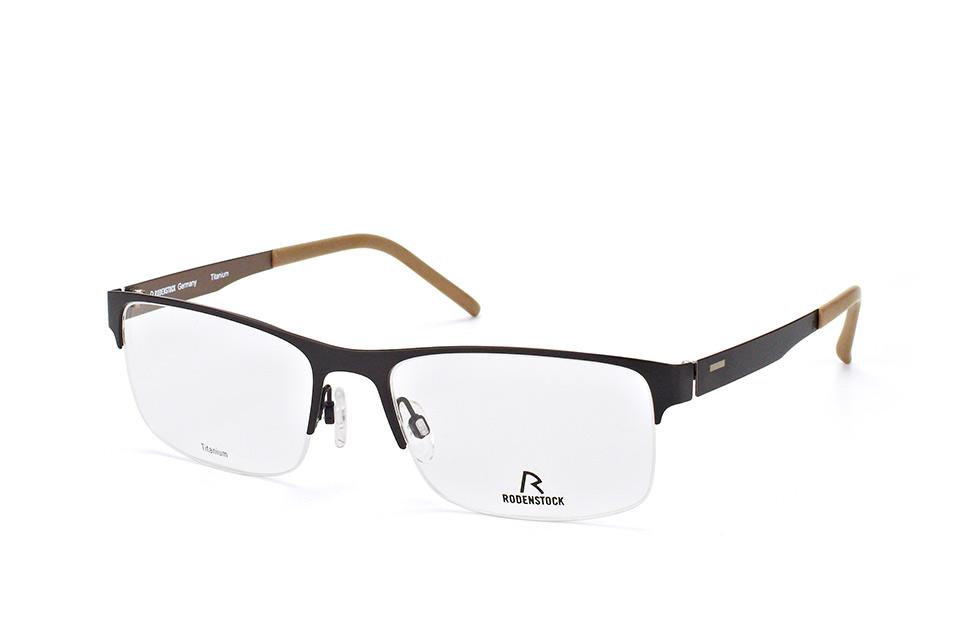 R 2319 A, Square Brillen, Schwarz