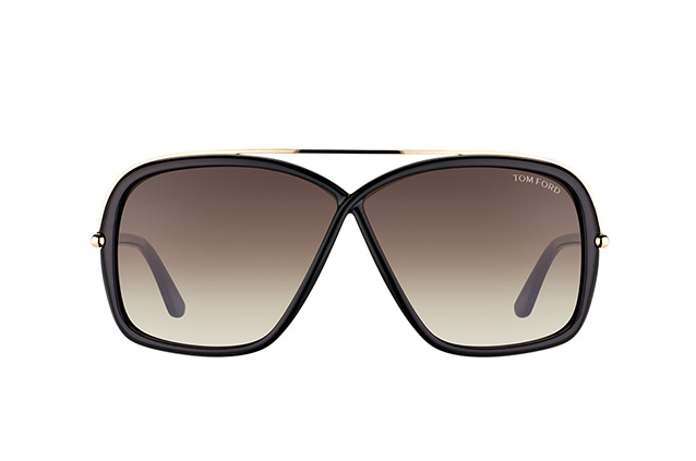Tom Ford Brenda FT 0455/S 01K perspective view