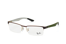 ray-ban-rx-8412-2892-rectangle-brillen-dunkelbraun