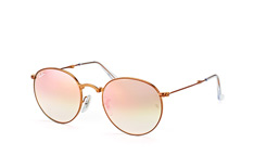 Ray-Ban RB 3532 198/7Y medium, Round Sonnenbrillen, Goldfarben