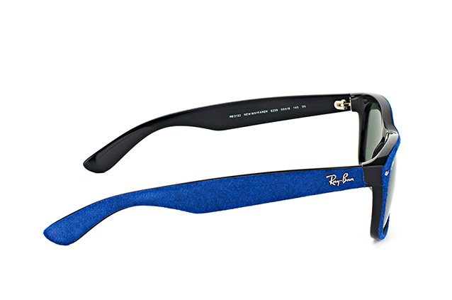 Ray-Ban New Wayfarer RB 2132 6239large vue en perpective