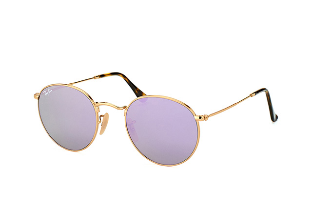 Ray-Ban Round Metal RB 3447 001/8O vista en perspectiva