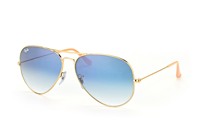 Ray-Ban Aviator RB 3025 001/3F large Perspektivenansicht