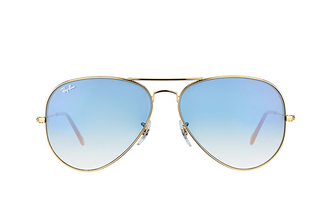 Ray-Ban Aviator RB 3025 001/3F large vista en perspectiva