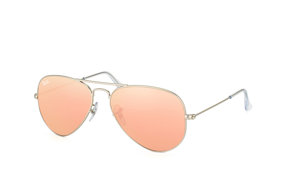 Ray-Ban RB3025 019/Z2 - Aviator (Flash Lenses) - zonnebril - Zilver / Koper Flash - 55mm