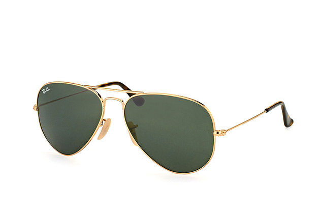 Ray-Ban Aviator large RB 3025 181 vista en perspectiva