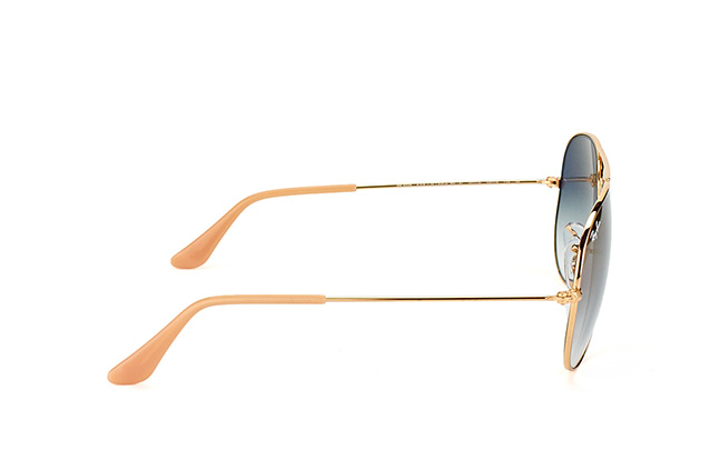 Ray-Ban Aviator large RB 3025 001/3F vista en perspectiva