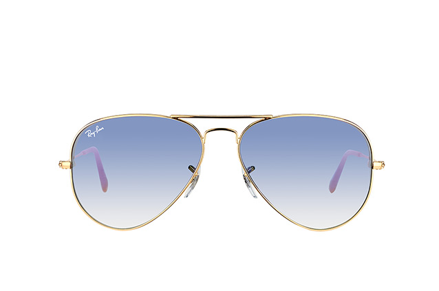 Ray-Ban Aviator large RB 3025 001/3F Perspektivenansicht
