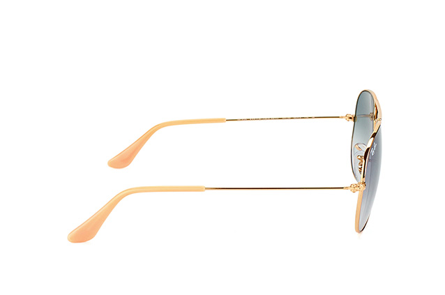 Ray-Ban Aviator RB 3025 001/3F small Perspektivenansicht