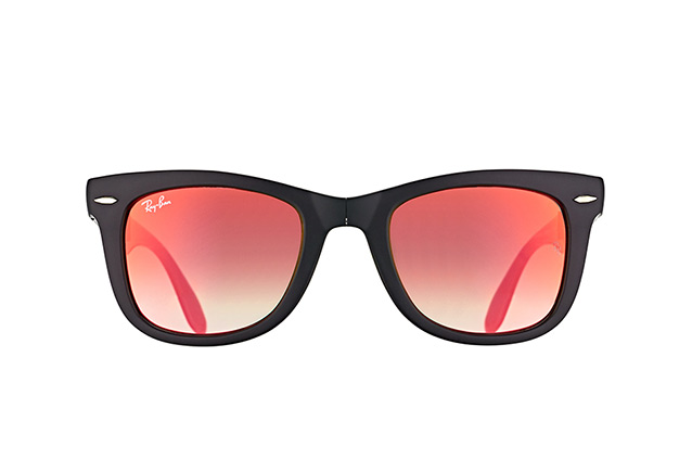 Ray-Ban Fold Wayfarer RB 4105 6069/4W perspective view