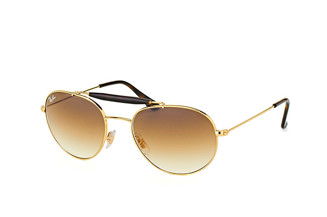 Ray-Ban RB 3540 001/51 vista en perspectiva