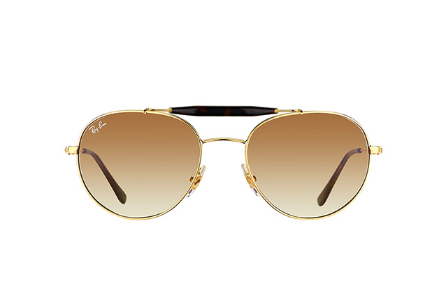 Ray-Ban RB 3540 001/51 perspective view