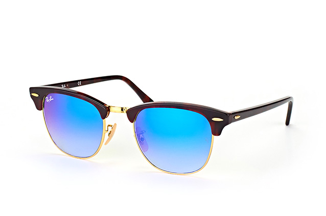 Ray-Ban Clubmaster RB 3016/7Q large perspective view
