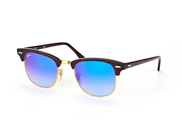Ray-Ban Clubmaster RB 3016 990/7Qsmall Perspektivenansicht