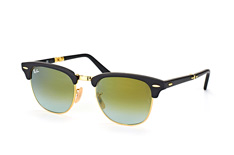 Ray-Ban Folding RB 2176 901-S/9J, Browline Sonnenbrillen, Goldfarben