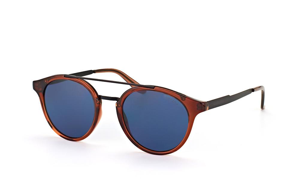 Carrera Unisex-Erwachsene Sonnenbrille 5043/S Z0, Schwarz (Matte Blue), 56