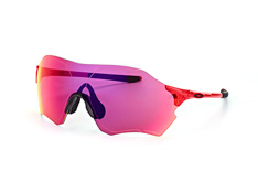 Oakley Evzero Range OO 9327 04, Singlelens Sonnenbrillen, Schwarz