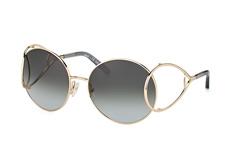 Chloé Jackson CE 124S 744, Round Sonnenbrillen, Goldfarben
