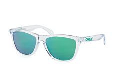 Oakley Frogskins OO 9013 A3, Square Sonnenbrillen, Transparent