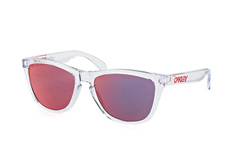 Oakley Frogskins OO 9013 A5, Square Sonnenbrillen, Transparent