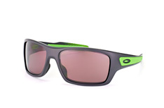 Oakley Turbine OO 9263 27, Rectangle Sonnenbrillen, Grau