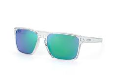 Oakley Sliver XL OO 9341 02, Square Sonnenbrillen, Transparent