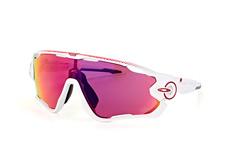 Oakley OO Jawbreaker 9290 18, Singlelens Sonnenbrillen, Weiss