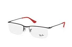 ray-ban-rx-6370-2503-rectangle-brillen-schwarz