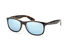 Ray-Ban Andy RB 4202 710/y4, Square Sonnenbrillen, Dunkelbraun