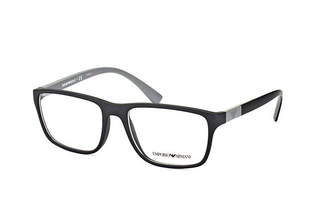 Emporio Armani Herren Brille » EA3091«, schwarz, 5042 - schwarz