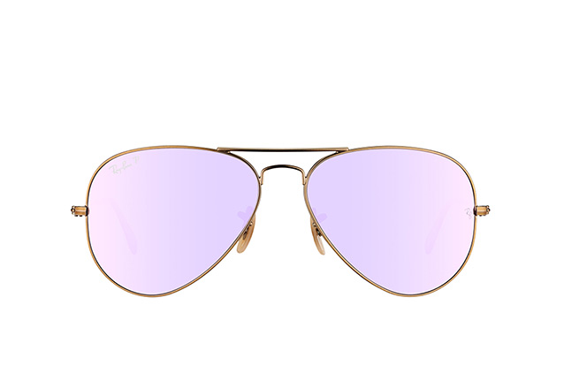 Ray-Ban Aviator large RB 3025 167/1R vista en perspectiva