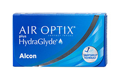 Air Optix Air Optix plus HydraGlyde tamaño pequeño