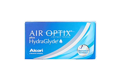 Air Optix Air Optix plus HydraGlyde framifrån